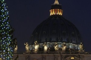 Happy Hour / Buffet Dinner and Midnight Mass at St. Peter's Basilica